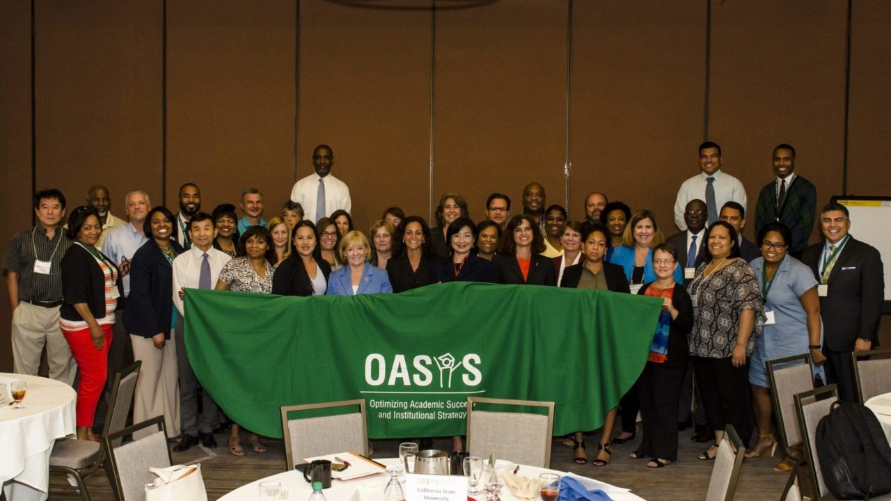 Institutional Teams at the OASIS Network Meeting in Fullerton, CA