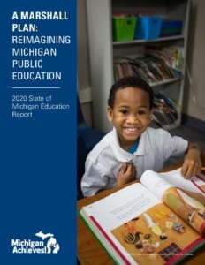 A Marshall Plan: Reinagining Michigan Public Education